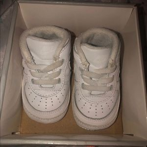 Nike air forces size 1c